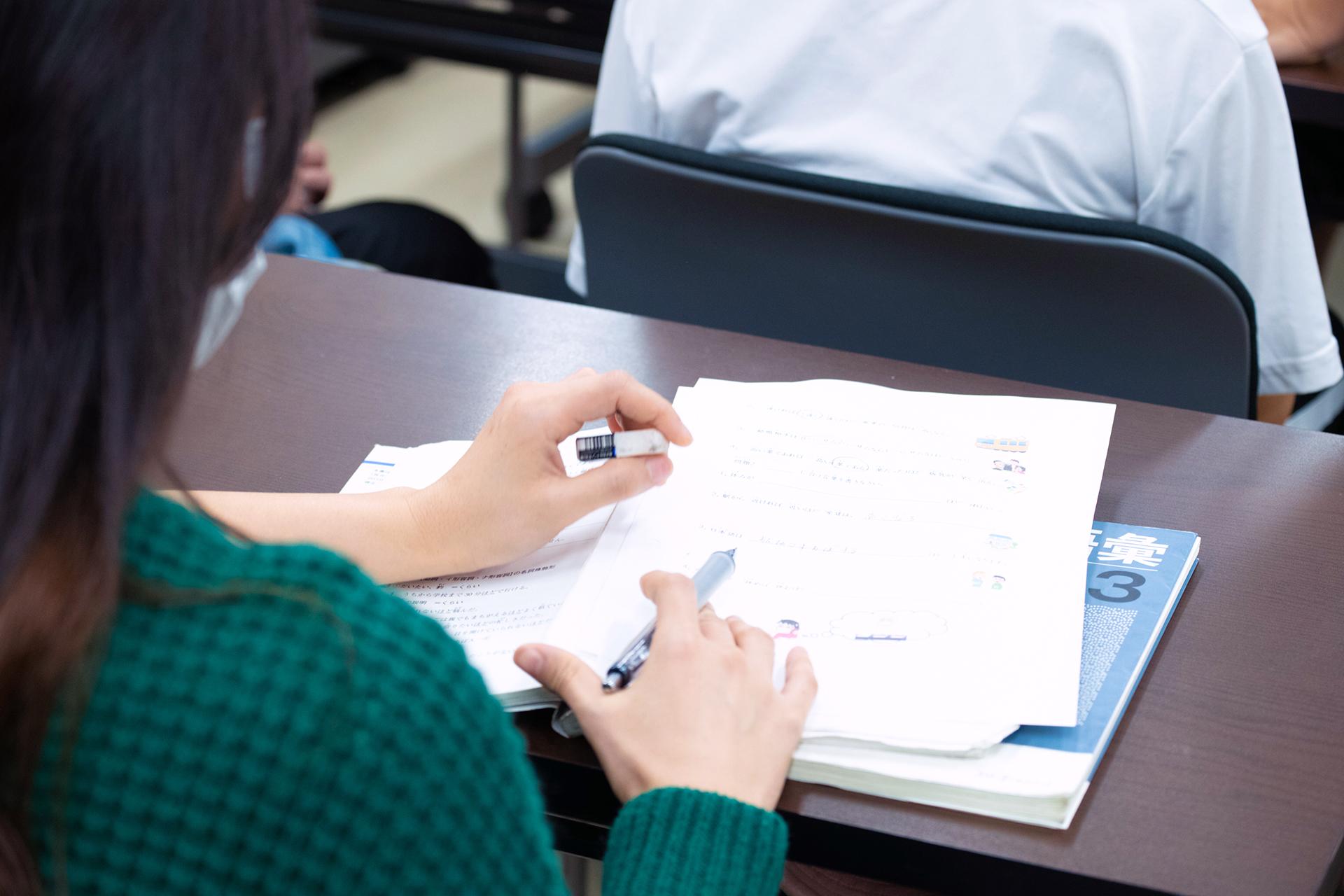 国際通訳ビジネス学科 将来の就職に必要な国際ビジネス関係科目が履修できる