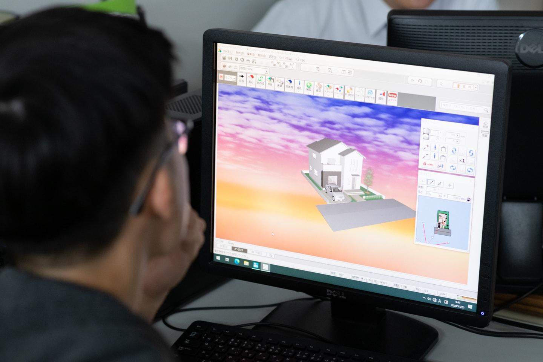 建築CAD学科|建築業界で高い需要を誇る三次元CADに精通できる